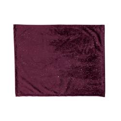BURGUNDY Set de table rouge foncé Larg. 38 x Long. 48 cm