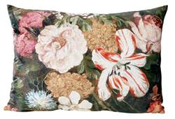 BOUQUET Coussin multicolore Larg. 50 x Long. 70 cm
