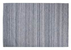PET Tapis gris Larg. 160 x Long. 230 cm