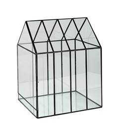 GREENHOUSE Mini serre transparent H 38 x Larg. 29,5 x P 25,5 cm