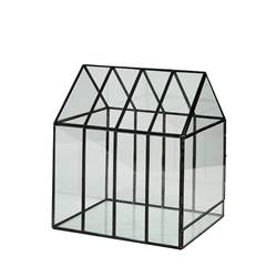 GREENHOUSE Mini serre transparent H 28 x Larg. 24 x P 20 cm