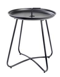 MATHIS Table d'appoint noir H 45 cm; Ø 40 cm