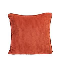 TUBA Coussin orange Larg. 45 x Long. 45 cm
