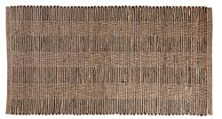 ETHNIC Tapis noir, naturel Larg. 80 x Long. 150 cm