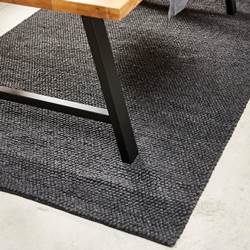 YELLE Alfombra gris oscuro An. 250 x L 350 cm