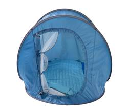 QUICK Pop-up tent blauw H 105 x B 120 x L 200 cm