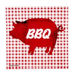 BARBECUE Set de 20 serviettes