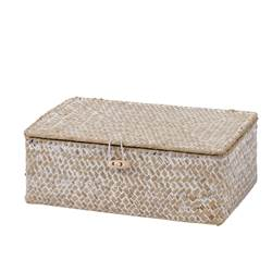 SEAGRASS Caja natural A 9 x An. 24 x P 15 cm